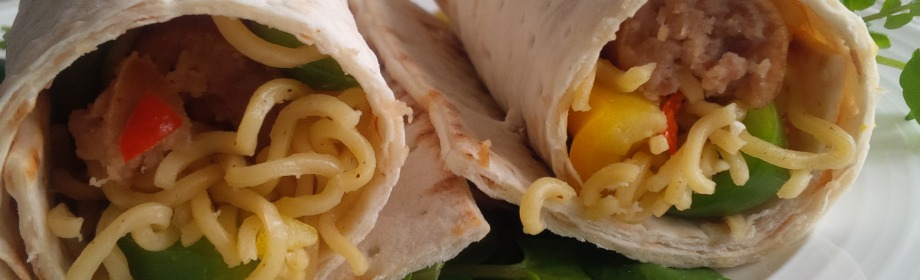 Spicy Indomie Wrap