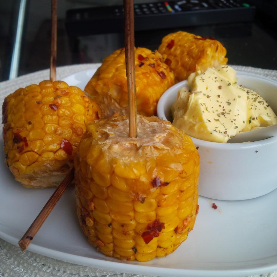 Spicy Corn on theCobb