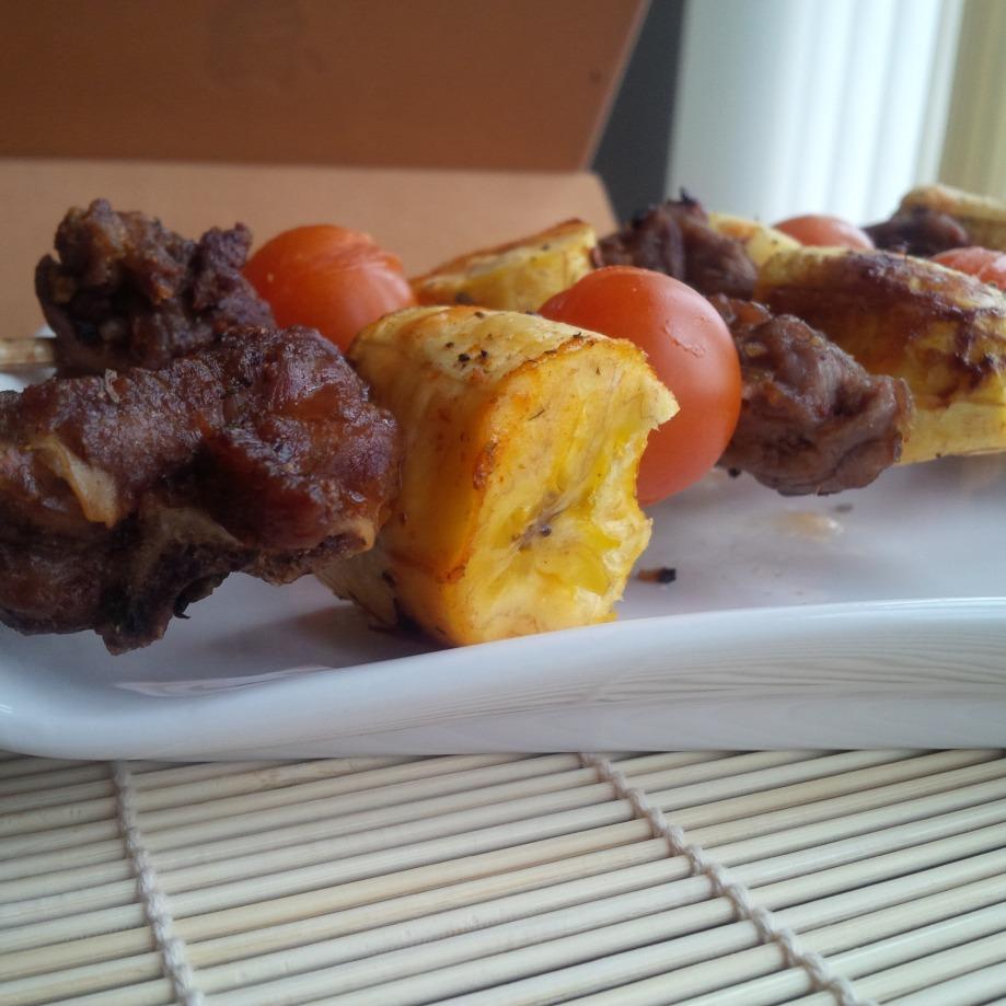Plantain Kebab