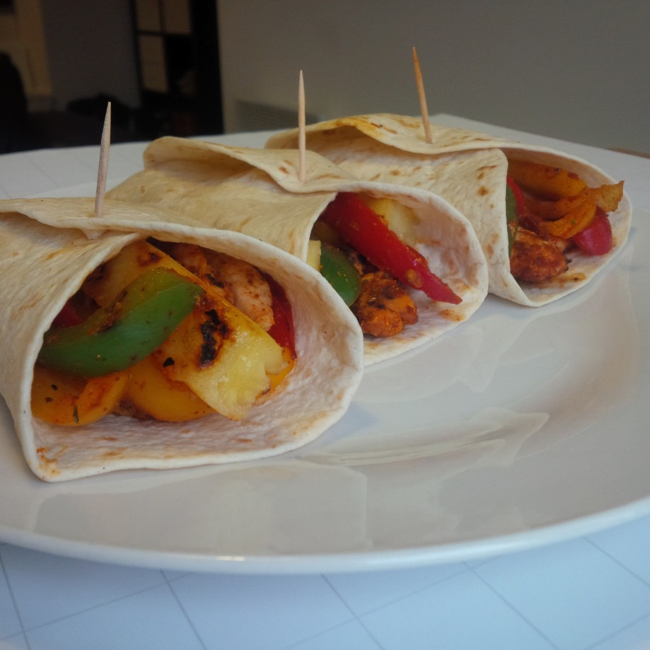 Chicken Pineapple Wrap