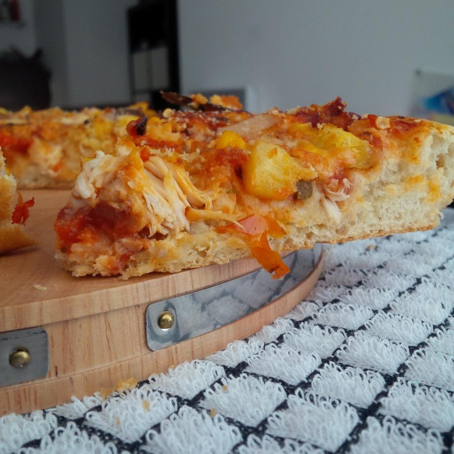 Home Made ChickenPizza