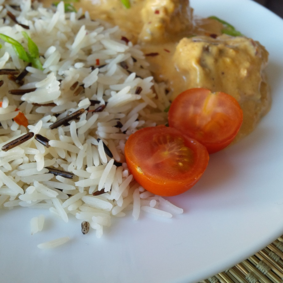 Wild Basmati + Cashew ChickenCurry
