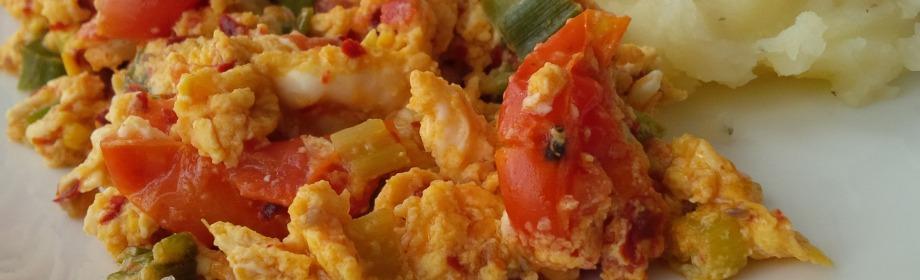 Mashed Potatoes & EggSauce